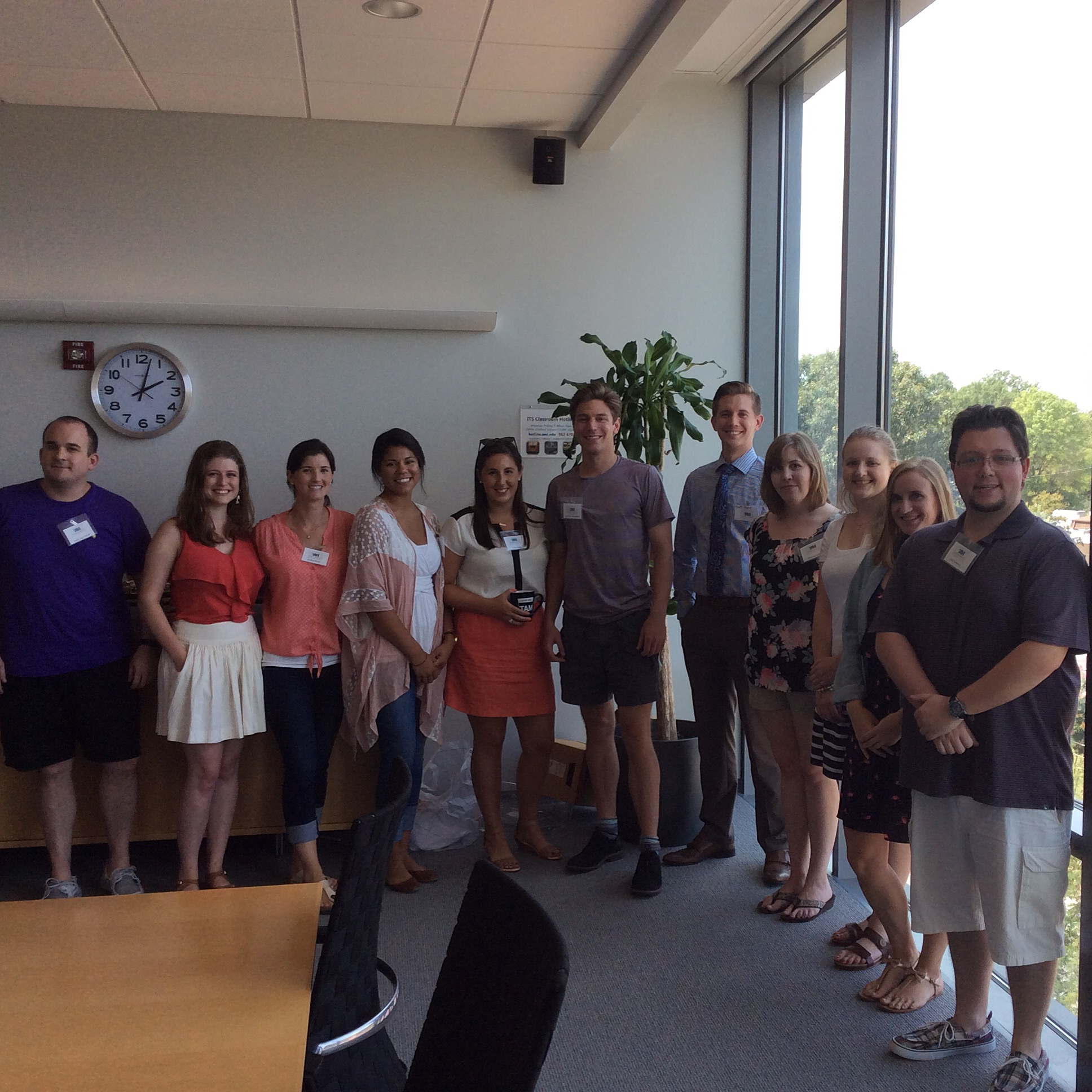 A photo from a UNC Jean Monnet Center of Excellence program.
