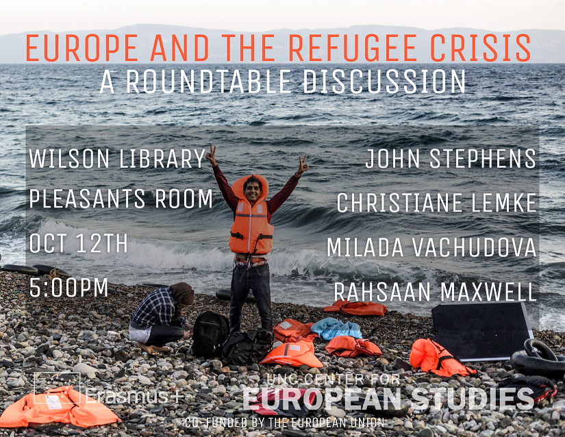 Refugee Roundtable flyer.