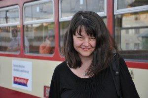 Milada Vachudova smiles at the camera.