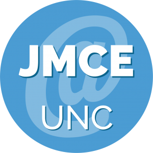 Decorative image with text JMCE @ UNC.