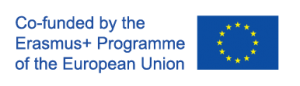 EU flag with text that says co-sponsored by the Erasmus Plus Programme of the European Union.