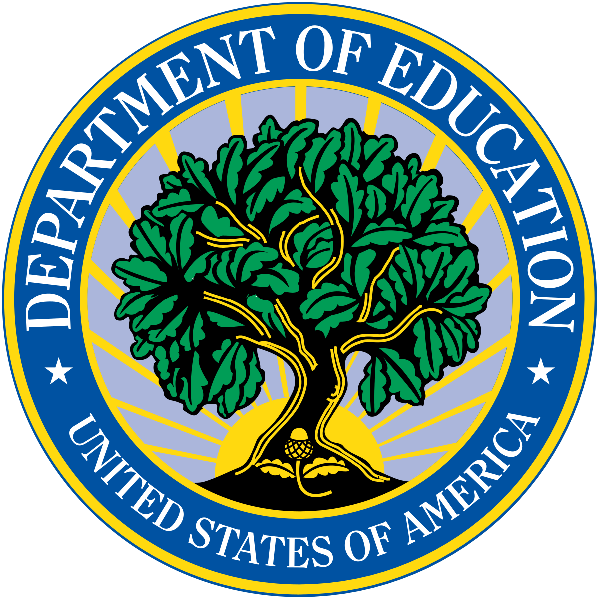 US Department of Education logo.