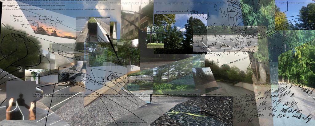 Photo collage of street scenes.