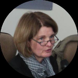 Headshot of Professor Susan Pennybacker.